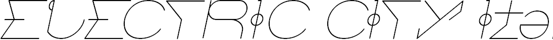 Preview image for ELECTRIC CITY Italic