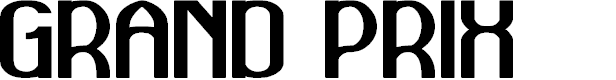 Preview image for GRAND PRIX Font