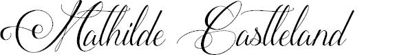 Preview image for MathildeCastleland Font