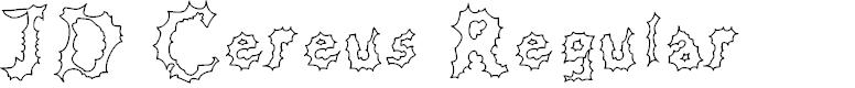 Preview image for JD Cereus Regular