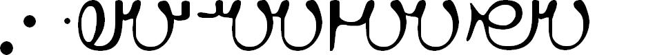 Preview image for Ahuramzda Font
