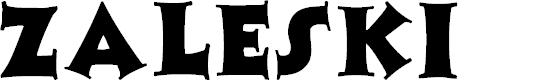 Preview image for Zaleski Font