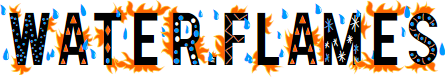 Preview image for Water and Flames DEMO Font