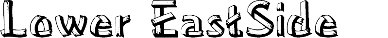Preview image for Lower-EastSide Font