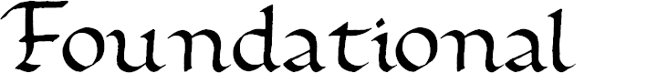 Preview image for Foundational Font