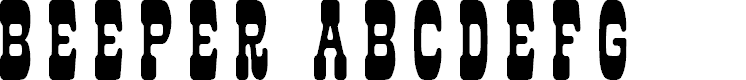 Preview image for Beeper Font