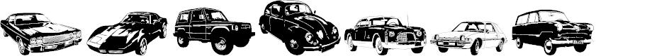 Preview image for DJ Autocar Font