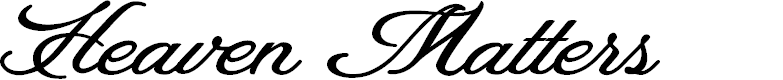 Preview image for Heaven Matters Personal Use Font