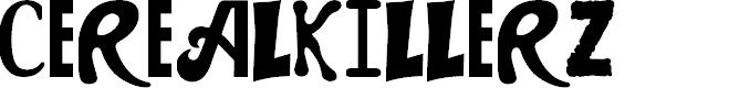 Preview image for CEREALKILLERZ Font