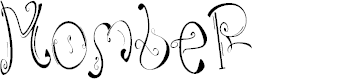 Preview image for MombeR Font