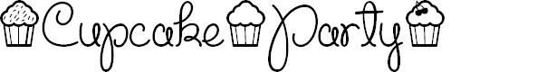 Preview image for Cupcake Party Demo Font