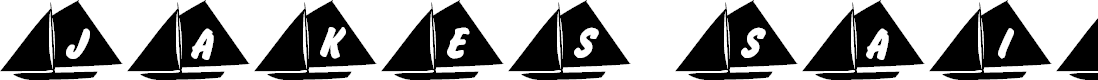Preview image for 101! Jake's Sailing Font