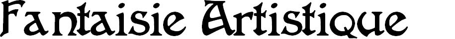 Preview image for FantaisieArtistique Font