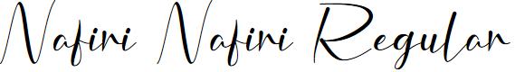 Preview image for Nafiri Nafiri Regular Font