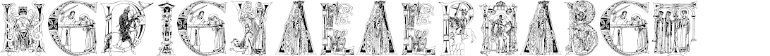 Preview image for MedievalAlphabet
