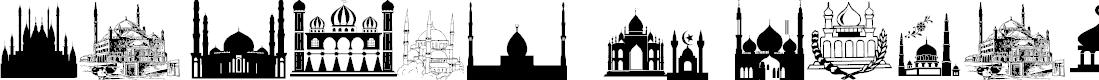 Preview image for Masjid Al Imran Font