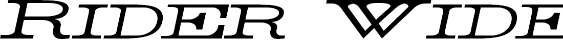 Preview image for Rider Widest Ultra-expanded Light Italic