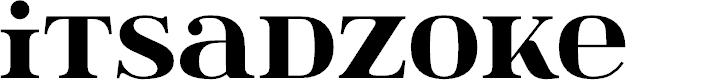 Preview image for itsadzoke Font