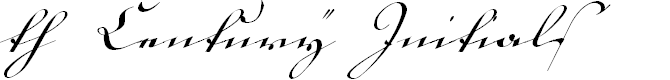 Preview image for 18th Century Kurrent Font