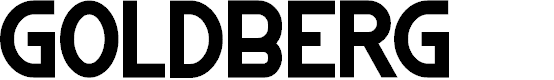 Preview image for GOLDBERG Font