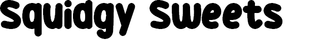 Preview image for Squidgy Sweets Font