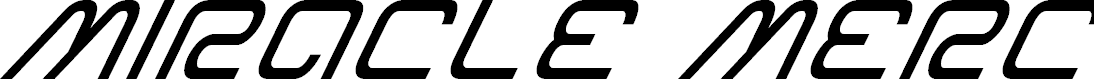Preview image for Miracle Mercury Super-Italic