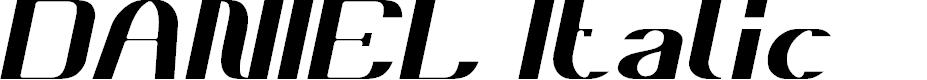 Preview image for DANIEL Italic