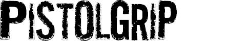 Preview image for Pistolgrip Font