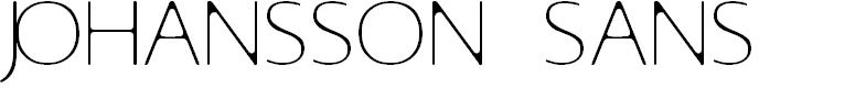 Preview image for Johansson Sans