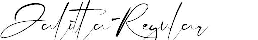 Preview image for Jalitta-Regular Font