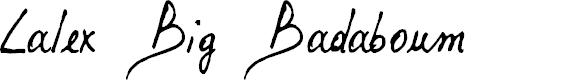 Preview image for Lalex Big Badaboum