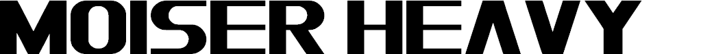 Preview image for Moiser heavy Font