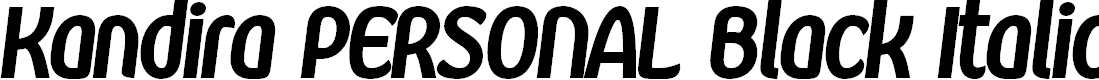 Preview image for Kandira PERSONAL Black Italic