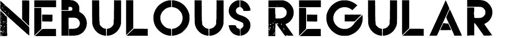 Preview image for Nebulous Regular Font