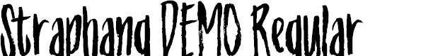Preview image for Straphang DEMO Regular Font