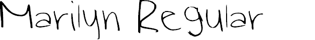 Preview image for Marilyn Regular Font