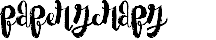 Paper Scraps by Xerographer Fonts