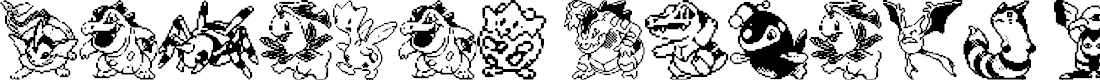 Preview image for Pokemon pixels 2