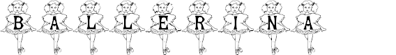 Preview image for BJF Ballerina BJF Ballerina Font