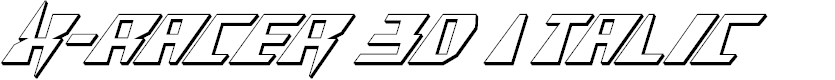 Preview image for X-Racer 3D Italic