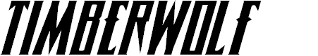Preview image for Timberwolf Expanded Italic