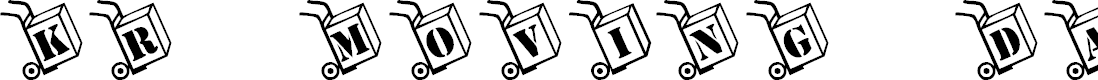 Preview image for KR Moving Day Font