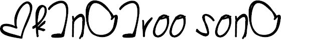 Preview image for KangarooSong Font