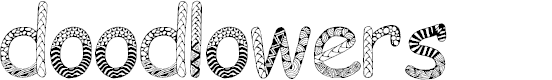 Preview image for Doodlowers Font