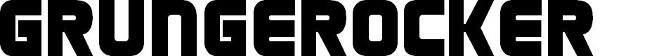Preview image for Grungerocker Font