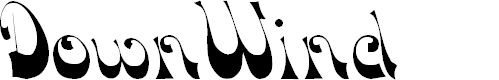 Preview image for DownWind Font