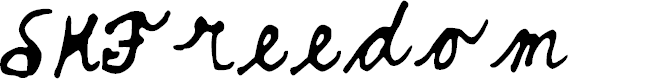 Preview image for SKFreedom Font