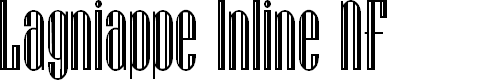 Preview image for Lagniappe Inline NF Font