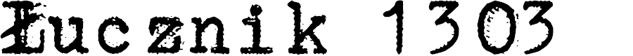 Preview image for Łucznik 1303 Font