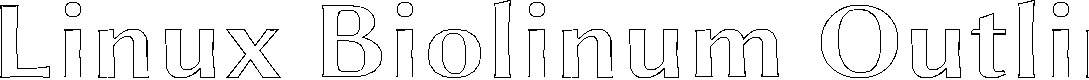 Preview image for Linux Biolinum Outline Bold